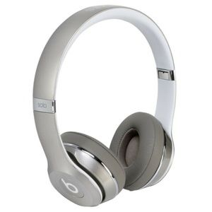 Beats solo2 luxe edition silver new